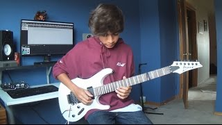 Polyphia - Sweet Tea (Guitar Cover) (Aaron Marshall Solo)