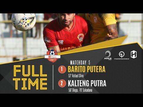 Barito putera Vs Kalteng putra, 1-2 Full Higlight & Goals Liga1 indonesia 2019.