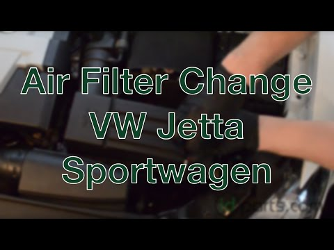 Air Filter Change VW Jetta Sportwagen How-to