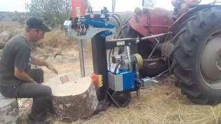 Repeat youtube video fendeuse BALFOR 16 TONNES