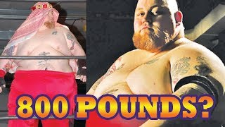 Heaviest Wrestlers of All Time!  800 Pounds, 900 Pounds
