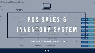 POS Sales and Inventory Management System With Source Code