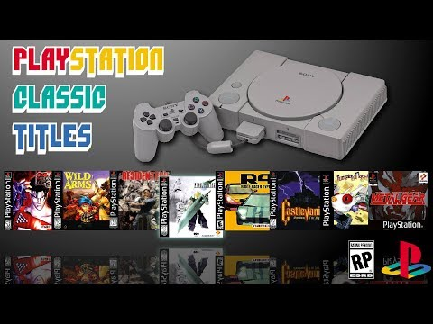 Games on the PlayStation Classic!