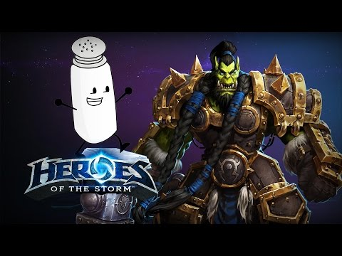 ♥ Heroes of the Storm (Gameplay) - Painful Earthquake Thrall Game (HoTs Quick Match)