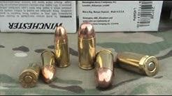 9mm VS .45 ACP FMJ