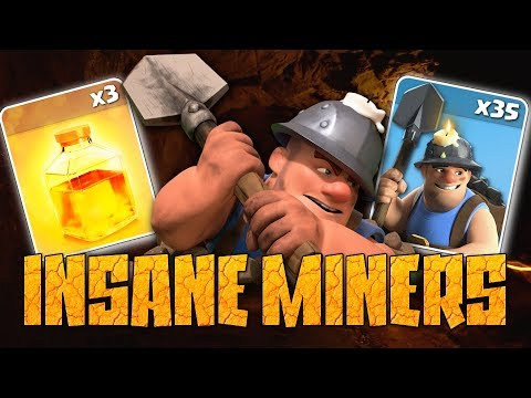 Miners Are INSANE At TH10 | YouTuber War Attacks In Clash Of Clans