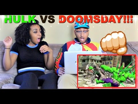 "ScrewAttack ""HULK VS DOOMSDAY | DEATH BATTLE! (MARVEL VS ... Doomsday Vs Hulk Death Battle Reaction"