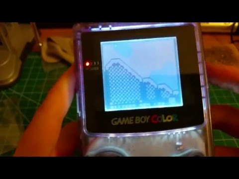 Frontlight Nintendo Gameboy Color Mod
