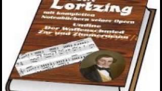 Opera Undine von Albert Lortzing