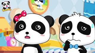 BabyBus ngompol | panda bermimpi | malaikat dan hantu