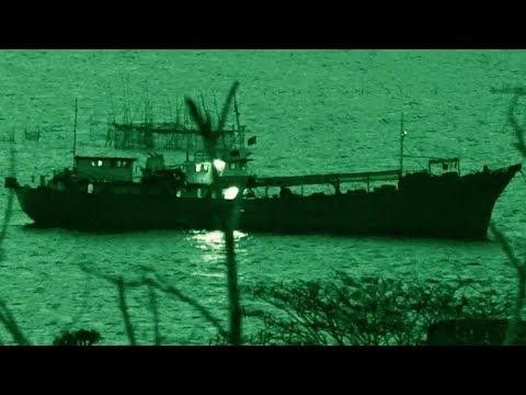 Navy SEAL sneaks onto Smuggler's Boat