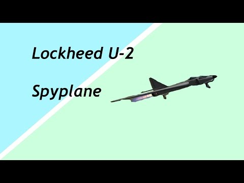 KSP: Lockheed U 2 Spy plane [Stock]