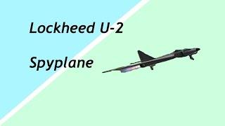 KSP: Lockheed U 2 Spy plane [Stock]