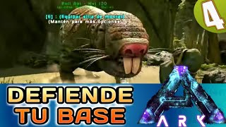 ARK ABERRATION #4 - COMO TAMEAR ROLL RAT | Gameplay Español