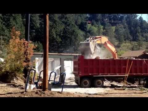 1 Jamestown fire house destruction