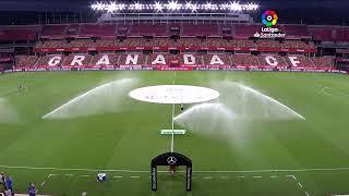 Calentamiento Granada CF vs Valencia CF