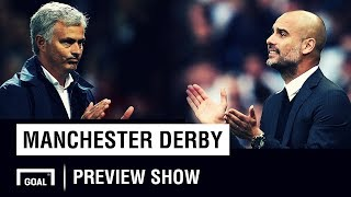 Manchester City v Manchester United - Preview Show