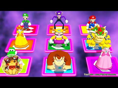 Mario Party 4 - All Mini Games [1080p]
