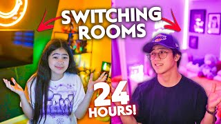 Siblings Switching ROOMS For 24 HOURS!! (May Secret!) | Ranz and niana