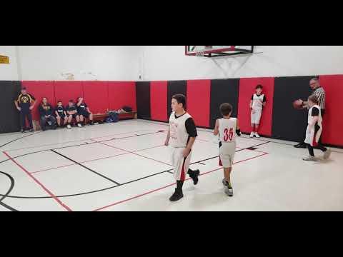 Monongah Middle School 6th Grade Boys Basketball vs East Fairmont Blue (Clip #8)