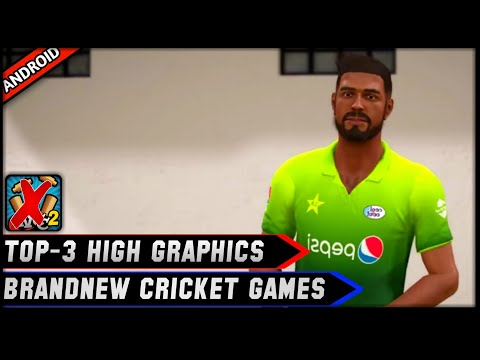😱Top-3 Brandnew High Graphics Cricket Games For Android 100Mb | Teeky Tech