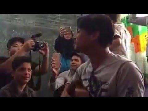 Anak Syria menangis mendengar lagu Assalamualaikum oleh Faizal Tahir
