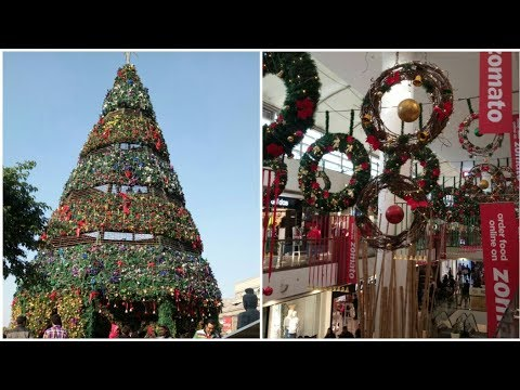 Christmas Decoration At Select Citywalk