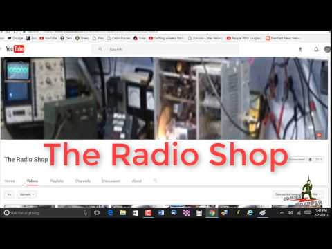 The Radio Shop channel shout-out