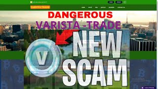 Varista Trade Full Review - Latest Scam Software