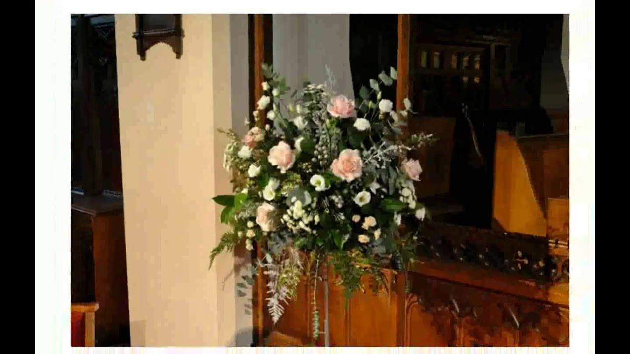 Flower Arrangement for Church - YouTube