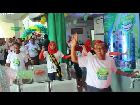 National Customer Day 2017. Healthy Gym Participants BPJS Employment in the city of Padang