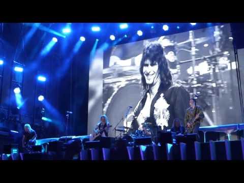 GOTTHARD - Heaven (as tribute to Steve Lee). Locarno, CH, Piazza Grande, July  22nd, 2017