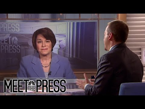 Full Klobuchar: Rural voters 'ready to do some background checks' | Meet The Press | NBC News