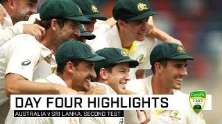 Starc leads Australia to series sweep | Second Domain Test