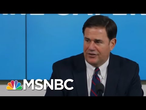 GOP Governor Sends White House To Voicemail, Certifies Election Results | Rachel Maddow | MSNBC