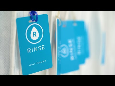 Rinse seamlessly facilitates dry cleaning services