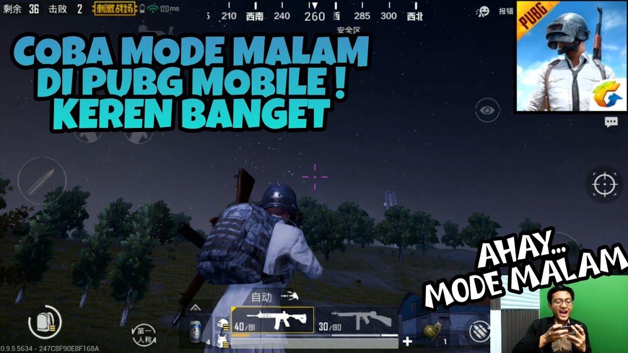 Coba Mode Malam Hari Night Mode Di Pubg Mobile Keren Banget