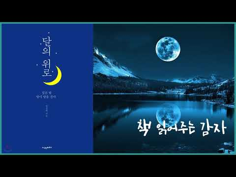 [책 읽어주는 감자] 달의 위로 - 안상현 (ASMR 오디오북 시 낭송 감성 헤어진)