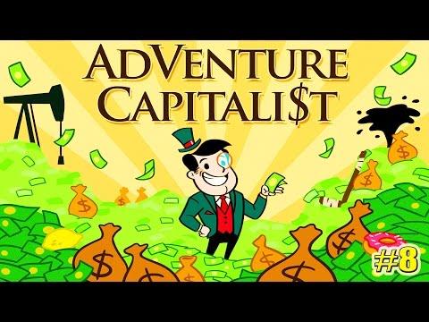 Adventure Capitalist (КАК СТАТЬ БОГАТЫМ?) прохождение НАЧИНАЕМ ЗАНОВО (8 серия)