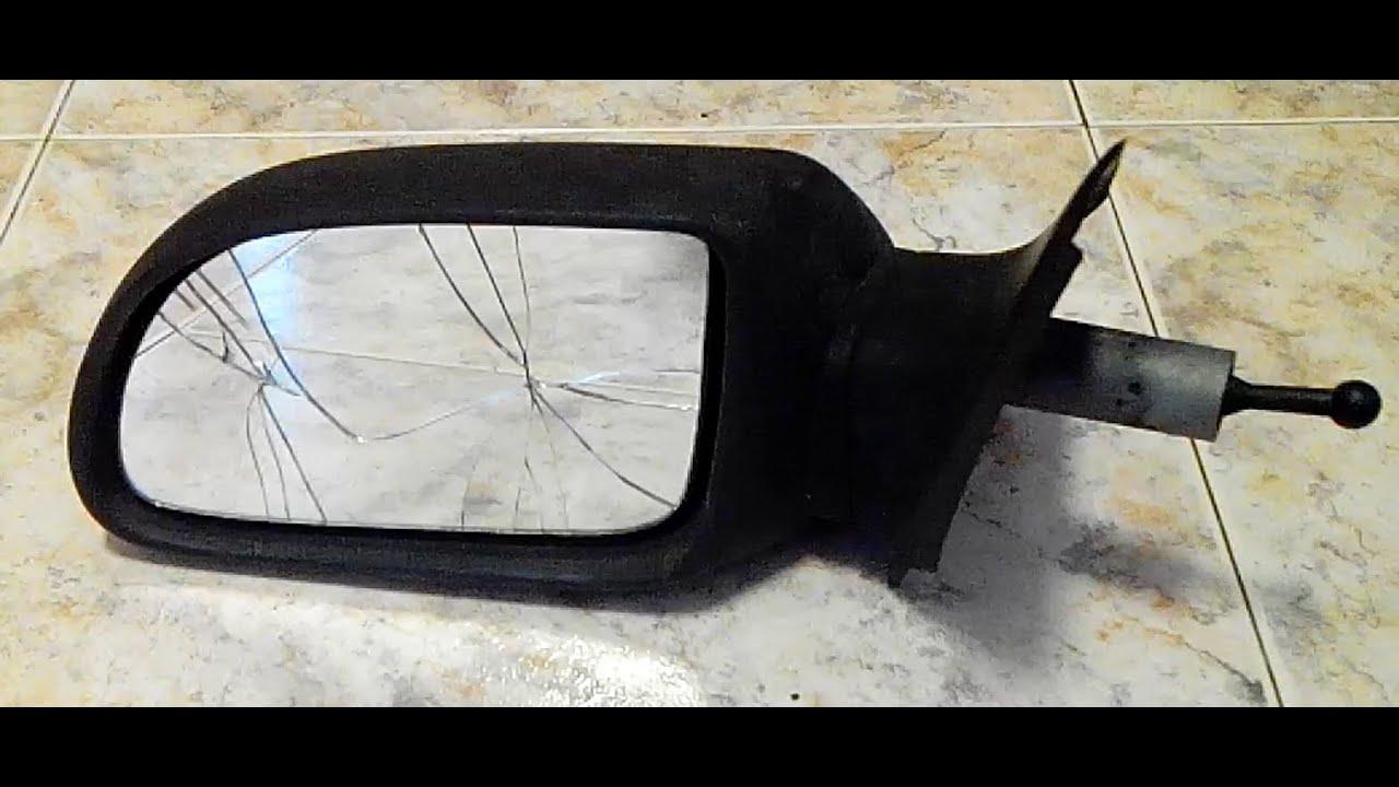 замена боковова зеркало фольксваген поло видео