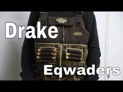 cad2bb02e063d Drake Waterfowl MST Eqwader 2.0 Chest Waders Review - YouTube