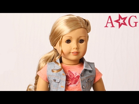 How To Style Hair With Tenney! | Doll Hairstyles | American Girl