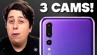 "Huawei P20 Pro PARODY - ""Triple Camera!"""