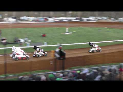 4 12 19 Justin Clark Flip Feature Bloomington Speedway