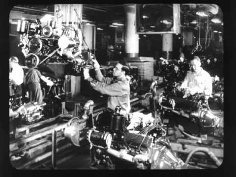 Mid Century Cadillacs Forum-1957 Cadillac Factory embly - YouTube