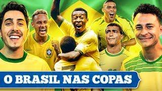 Jogos do Brasil na copa