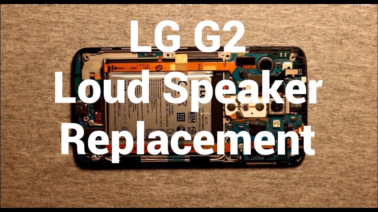 lg g2 loud speaker replacement how to change youtube rh youtube com Stereo Mini Jack Stereo Mini Jack