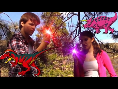 power rangers dino super charge red and pink ranger original footage