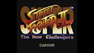 Super Street Fighter II: The New Challengers (SNES) - Longplay as Sagat