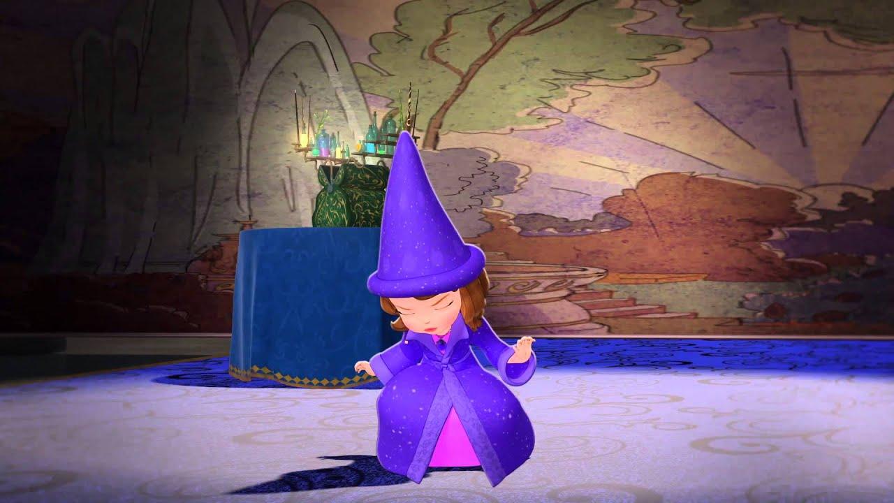 Princesse sofia   les bonnes manières de princesse #10   aider ses ...